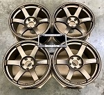 Rays Wheels Volk Racing TE37 SAGA 18x9.5 +22 5x114.3 Bronze