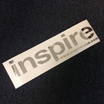 Inspire USA Decal Chrome (16 inches)