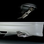Mugen Titanium Sports Silencer - Honda Fit 07+