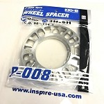 Project Kics 8mm Universal Spacers (2pk)