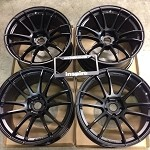 Rays Wheels Gram Lights 57Xtreme Semi Gloss Black 19x10.5 +35 5x114.3