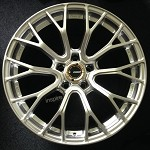 Rays Wheels Gram Lights 57 Valkyrie Sunlight Silver 18x9.5 +22 5x114.3