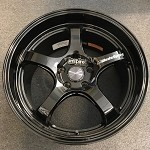 Weds Wheels Wedssport RN05M 18x9.5 +36 5x120 Gloss Black (Civic Type R spec)