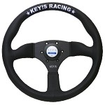 Key's Steering Wheel - Semicone Type 350mm Suede