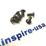 inspireUSA Steering Wheel Bolt Kit - Black Flat