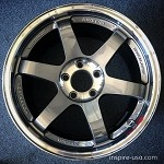 Rays Wheels Volk Racing TE37SL 17x9 +22 5x114.3 Pressed Graphite