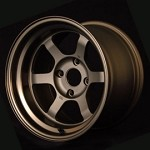 Volk Racing TE37V Wheel - 17x8.0 / 4x114.3 / Offset +0