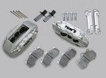 TOM'S Racing High Performance Brake Kit Front & Rear Set Lexus LS600h 07-09