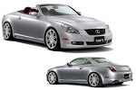 TOM'S Racing Styling Parts Set Lexus SC430 05+
