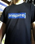 Inspire USA T-Shirt V.7 (Spring 2018) Blue