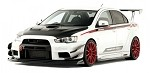 Varis Mitsubishi EVO X Hyper Canard for EVO X Wide Body - Double (Carbon)