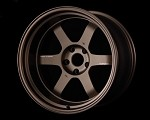 Volk Racing TE37V Mark-II Wheel - 18x10.5 / 5x114.3 / Offset +15 - Bronze