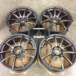 Weds Wheels Wedssport SA55M MGM 19x8.5 +35 and 19x10 +40 5x120