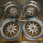 Work Wheels VSXX 18x10 and 18x12 Staggered Burning Silver 5x114.3