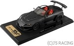 One model J's Racing S2000 TYPE-GT 1/18 Resin Model Berlina Black