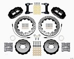 Wilwood Forged Narrow Superlite 4R Big Brake Rear Brake Kit For OE Parking Brake - Scion FRS / Subaru BRZ (Drilled & Slotted)