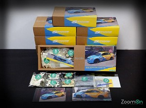 Zoom On 1/24 Spoon Sports Euro R Accord Resin Model Kit