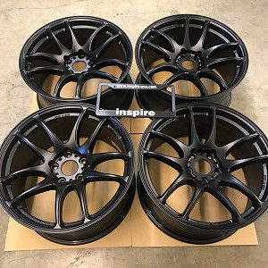 Work Wheels Emotion CR Kiwami 18x9.5 +38 5x114.3 Matte Black