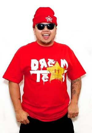 Dream Team - Red Tee w/ White/Gold Logo