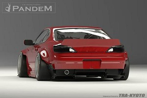 Rocket Bunny Rear Duck Tail Wing - Nissan S15