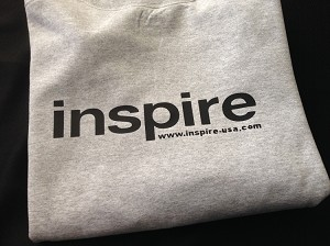Inspire USA Limited Edition Crewneck Sweater Gray Black