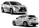TOM'S Racing Styling Parts Set - Lexus NX200t/300h 14+