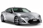 TOM'S Racing Styling Parts Set Black Garnish - Scion FRS