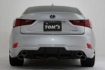 TOM'S Racing TOM'S Trunk Lid Spoiler (Paint Code 1H9) - Lexus IS350 13-16