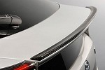 TOM'S Racing Trunk lid spoiler (Carbon Fiber) - Toyota Prius 16+