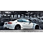 Liberty Walk Works Rear Wing Version 2 (CARBON) - BMW M3 E92