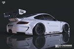 Liberty Walk Works Rear Wing - Version 1 (FRP) - Porsche 997