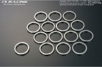 J'S RACING SPL Differential Distance Collar Full Shim Set - Honda S2000