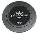 Personal Horn Button - Silver