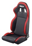 Sparco R100 Racing Seat - Black / Red