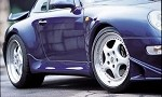 GruppeM Aerodynamics Side Skirts - Porsche Carrera 2 993, 1996-1998