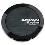 Advan Center Cap - Full Flat Cap (Black)
