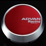 Advan Center Cap - Middle Cap (Candy Red)