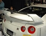 Amuse Dry Carbon Wing - Nissan Skyline GTR 09+ (R35)