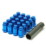 Muteki Classic Lugnuts - Blue (Close Ended) - 12x1.25