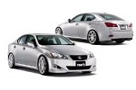 TOM'S Racing Styling Parts Set Painted WH-062 Lexus IS250/350 05-08